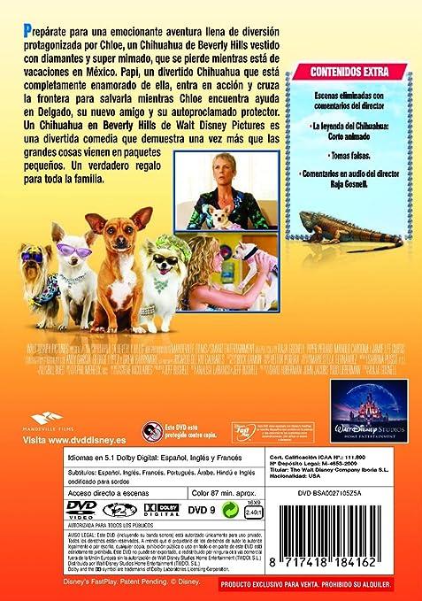 Un chihuahua en Beverly Hills [DVD]: Amazon.es: Jamie Lee Curtis, Ali Hillis, Nick Zano, Piper Perabo, Raja Gosnell: Cine y Series TV