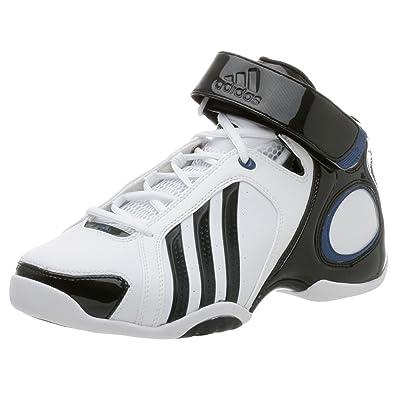 best service 23002 bf4f0 adidas Mens Stealth CC Basketball Shoe,RunwhtBlkLoneBlu,11.5 M