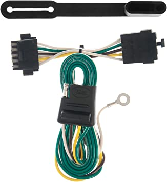 Amazon.com: CURT 55318 Vehicle-Side Custom 4-Pin Trailer Wiring Harness for  Select Chevrolet Blazer S-10: Automotive