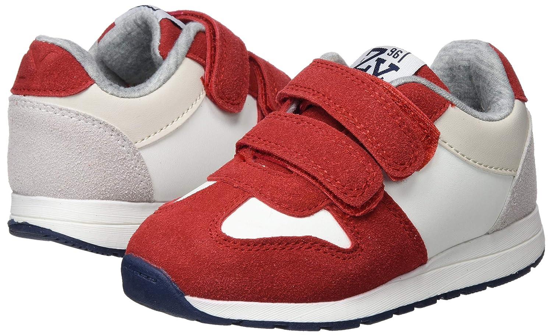 Amazon.com | ZIPPY Boys Zapatillas para Niño Slip On Trainers, Red (Scarlet 19/1760tc 371), 13 UK | Sneakers