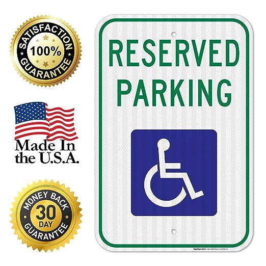 Amazon.com: 3M, cartel de estacionamiento para ...