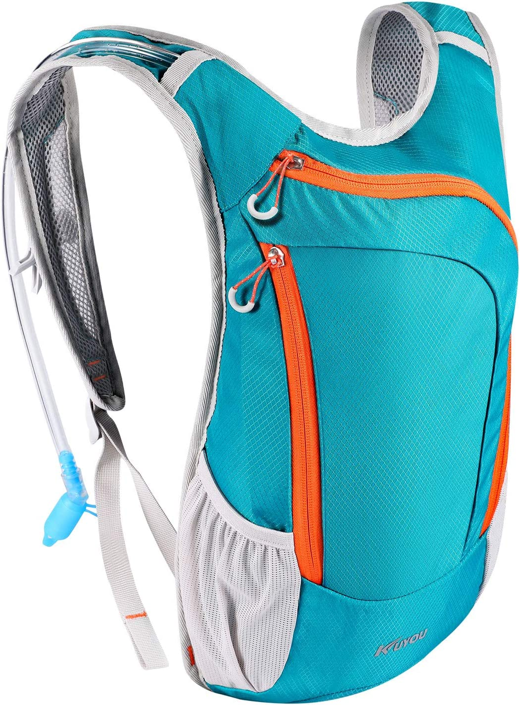 KUYOU Hydration Pack,Hydration Backpack with 2L Hydration Bladder Lightweight Insulation Water Pack for Running Hiking Riding Camping Cycling Climbing Fits Men Women