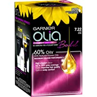 Garnier Olia Bold Permanent Hair Colour 7.22 Deep Rose (Ammonia Free, Oil Based)