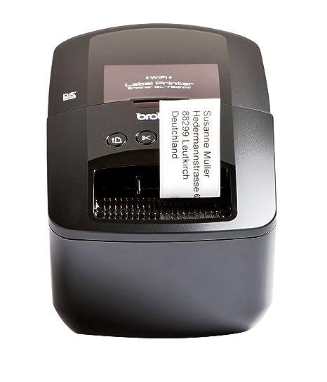 Amazon.com: Brother QL-720NW proff añadir impresora de ...