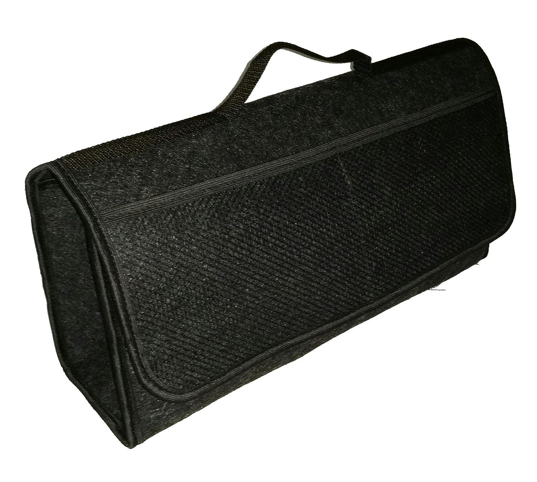 950 rangement en feutre adh/érant grand coffre et /à bande velcro noir 25,5 x 48 x /& 15,5 cm rev/êtement de sol TK-eshop TK