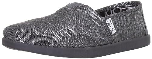 565897f3133bb BOBS from Skechers Women's World Slip-On Fashion Sneaker