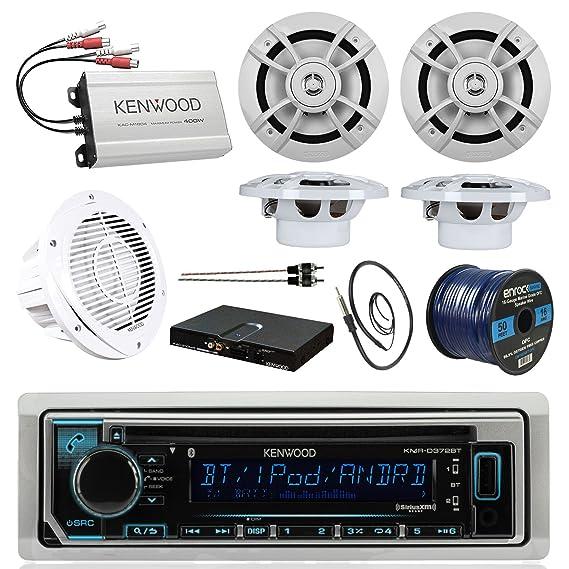 8184WkvuD L._SX569_ amazon com boat sound system package kenwood marine bluetooth