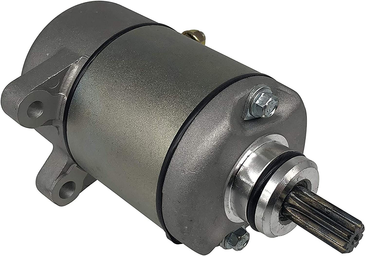 Starter Motor for 2000-2006 Honda 350 Four Trax FourTrax Rancher TRX350FE TRX350FM TRX350TE TRX350TM with Replace OE # 410-54038 18607 HA-116 495753 2-2764-MT 31200-HN5-671 31200-HN5-A81