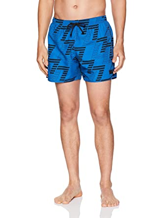 124c24f7f780e Emporio Armani EA7 Men's Sea World Beachwear Seven Boxers, Royal Blue,  Medium