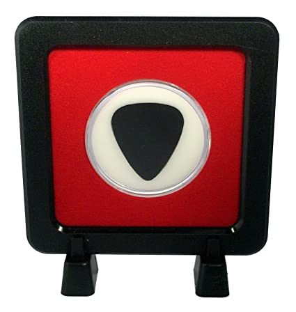 Amazon.com : Guitar Pick Display Frame with Stands - Red/White 351 ...