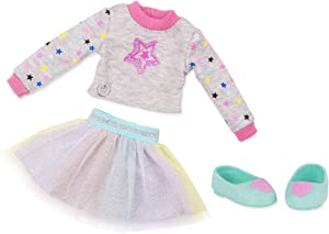"""Glitter Girls by Battat - Shine Bright Outfit -14"""" Doll Clothes - Toys, Clothes & Accessories For Girls 3-Year-Old & Up"""