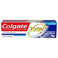 Colgate Total Whitening Toothpaste, Advanced Whitening, 3.4 ounce