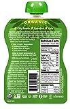 Mamma Chia Organic Vitality Squeeze Snack, Green