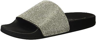 ccbe16aca12 Madden Girl Women s Fancy Slide Sandal Black Paris 6 ...