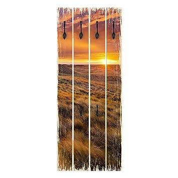 Bilderwelten Perchero de Madera - Sunrise On The Beach On ...