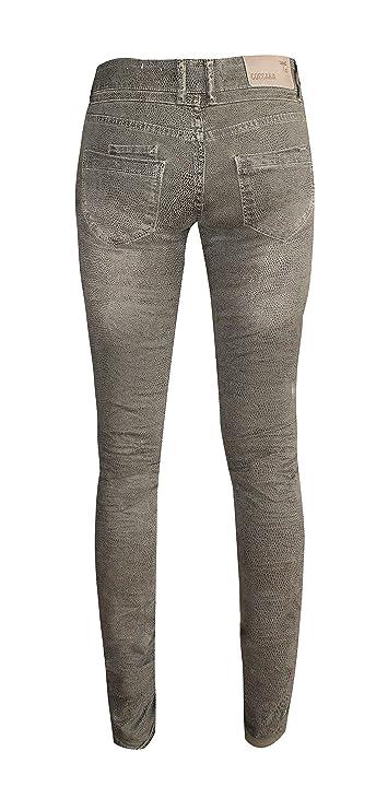 Coccara - Jeans - Femme vert vert - vert -  Amazon.fr  Vêtements et  accessoires 2245a22d521c