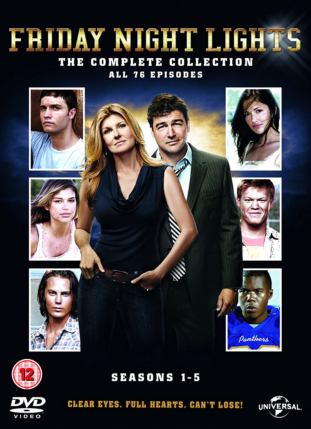 Friday Night Lights: Series 1 5 [DVD] [2006]: Amazon.co.uk: Kyle Chandler,  Connie Britton, Taylor Kitsch, Aimee Teegarden, Jesse Plemons, Derek  Phillips, ...