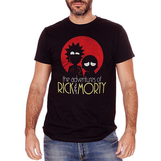 Cartoon Choose ur Color T-Shirt Rick /& Morty Foto Segnaletica