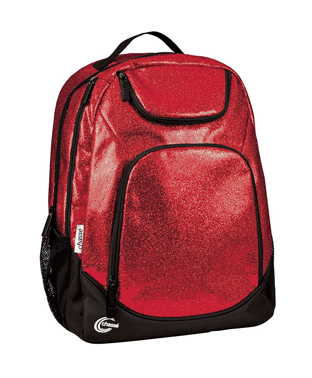 f5fc4d7d72 Chassé spotlight glitter backpack clothing jpg 1001x1215 Red cheerleading  bookbags