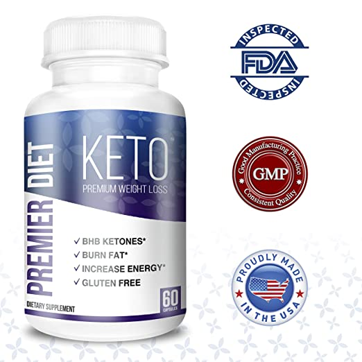 premier diet keto bottle