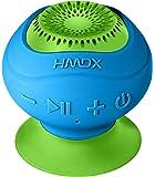 HMDX HX-P120BL HoMedics Neutron Wireless Suction Speaker (Blue)