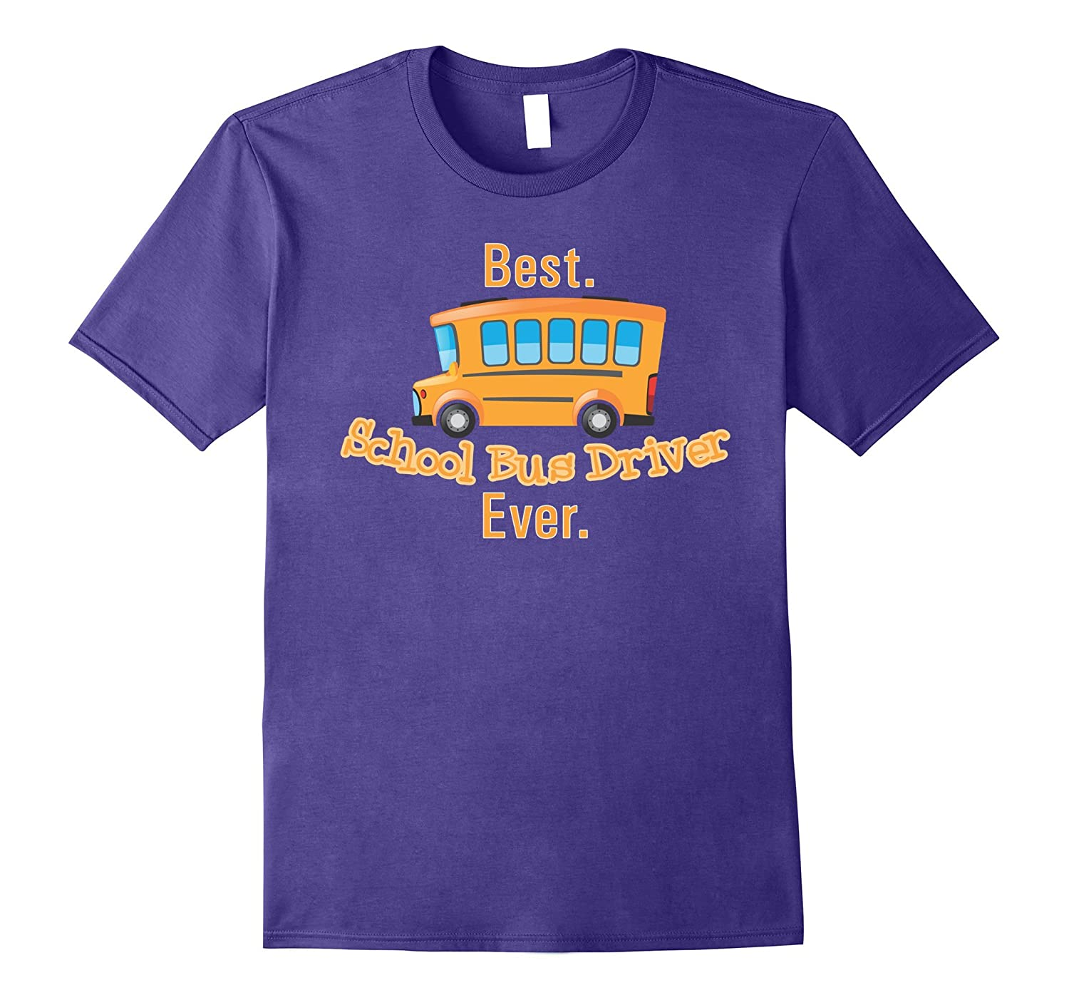 Worlds Best School Bus Driver T-Shirt Gift Kids Last Day-TH
