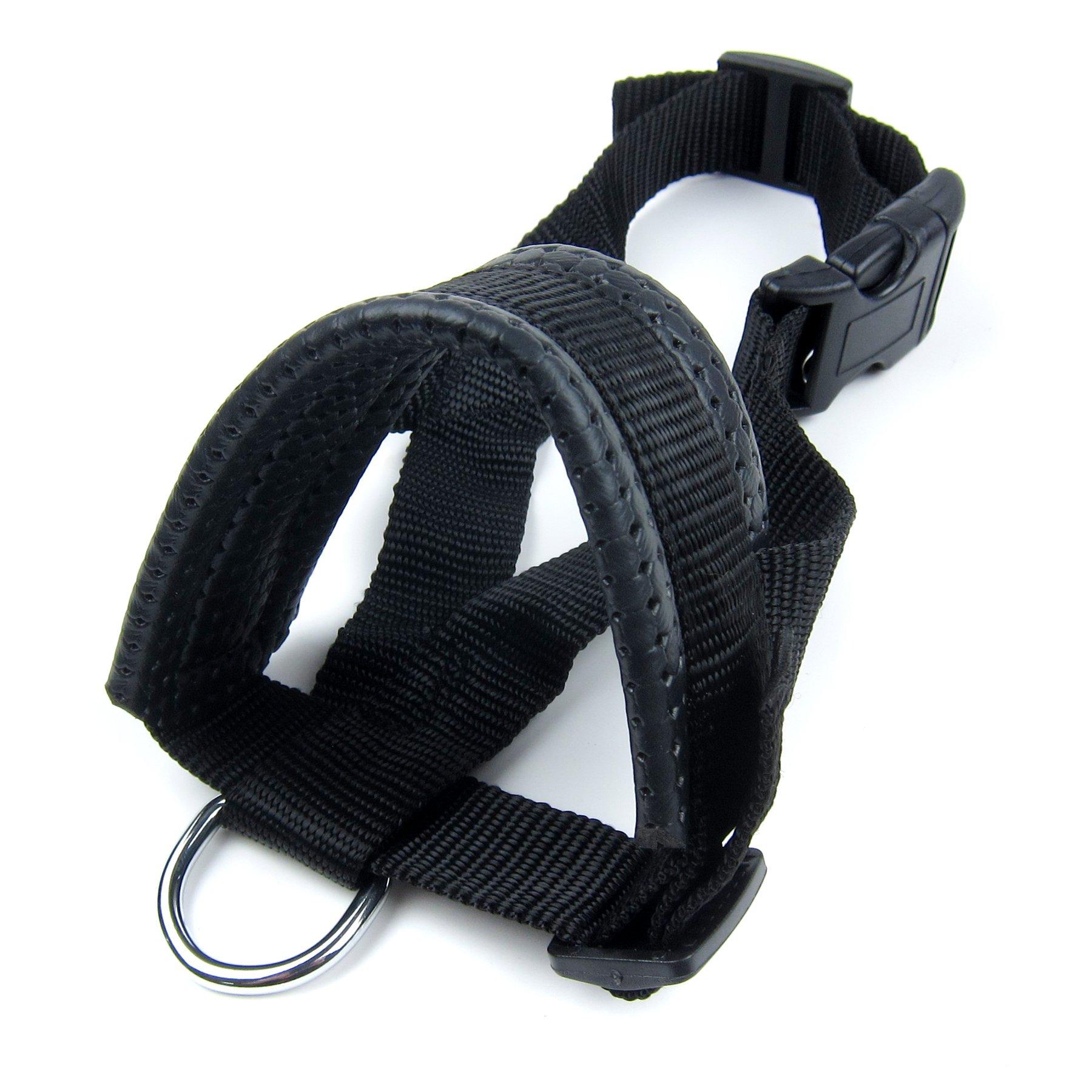 Alfie Pet by Petoga Couture - Jaimy Adjustable Quick Fit Nylon Muzzle - Color: Black, Size: XXL by Alfie (Image #3)