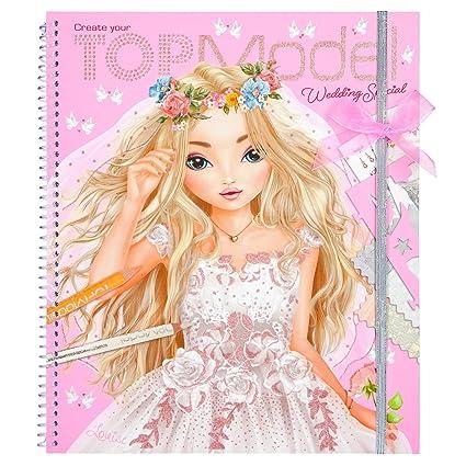 Top Model 0010200 Livre A Colorier