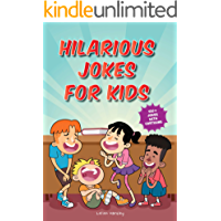 Hilarious Jokes for Kids: 450+ Jokes with Awesome Cartoons on Every Page (Ages 6-8)