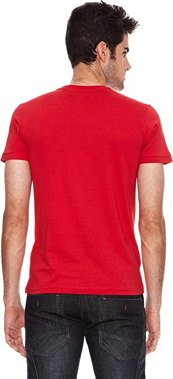 SIX VALVES Camiseta Manga Corta Rojo 3XL: Amazon.es: Ropa y accesorios