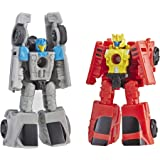 Transformers E3557 Generations War for Cybertron: Siege Micromaster Wfc-S4 Autobot Race Car Patrol 2 Pack Action Figure Toys