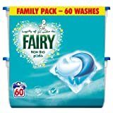 Fairy Non Bio Pods Washing Capsules - 3 x 60 Pack (180 Washes)