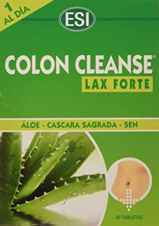 Colon cleanse lax forte composicion