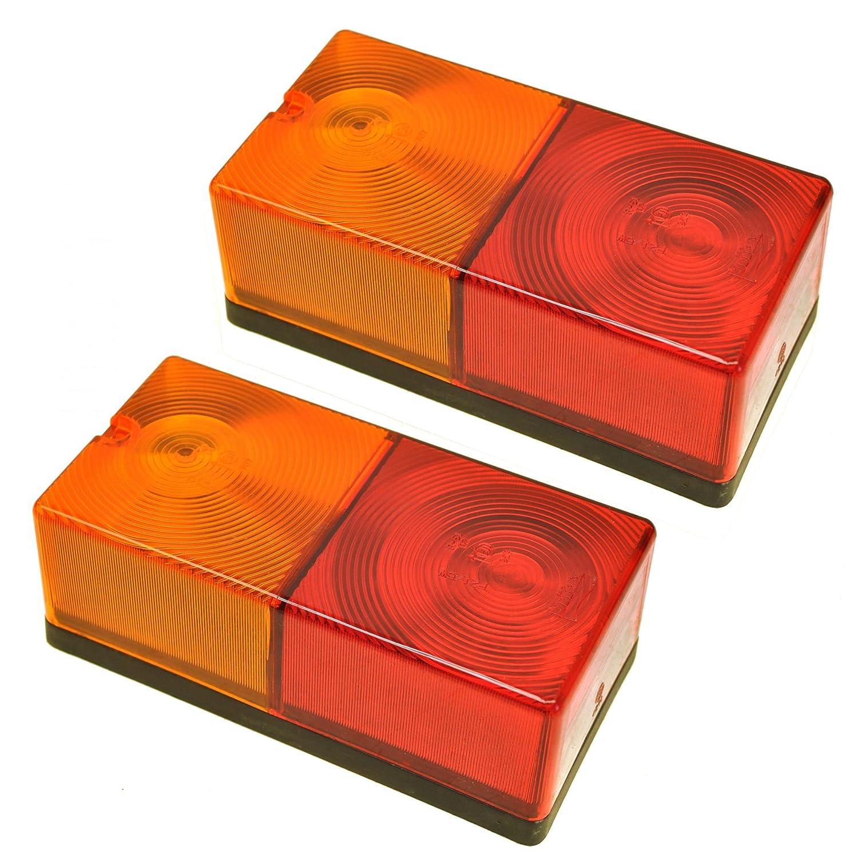 Britax Rear Trailer Light Combination Lamp Lighting PAIR TR049