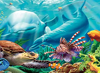product image for Ceaco Undersea Glow Seavilians Jigsaw Puzzle
