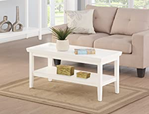 Convenience ConceptsCoffee Table, White
