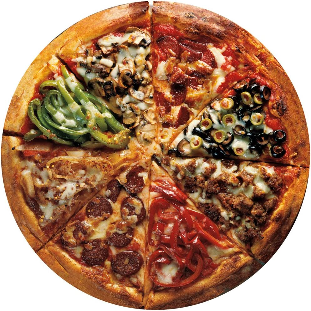 Bits and Pieces-Pizza Pie - 300 Piece Round Jigsaw Puzzle