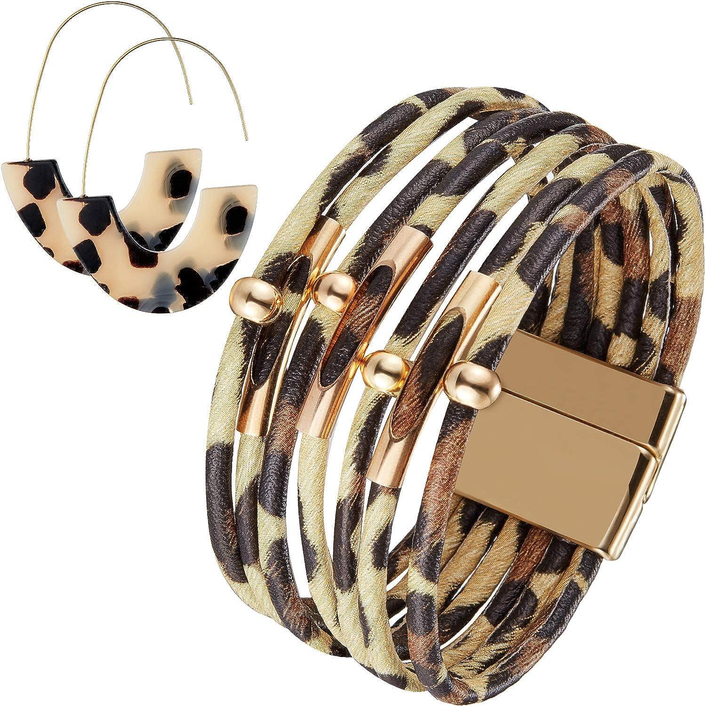 Hicarer Leopard Bracelets...