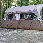 9035fe84ca4 Amazon.com : Field & Stream Wilderness Cabin 10 Person Tent : Sports ...