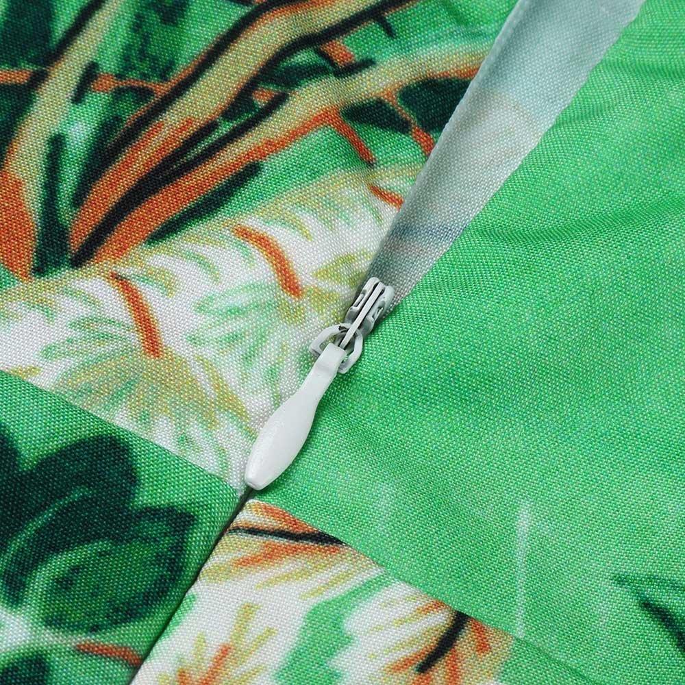 Women Beach Sundress ❤️PANPANY Ladies Sale Floral Boho Embroidery Loose Dress Sleeveless Printed Splicing Evening Dresses Chiffon Leopard Lace Formal Dress