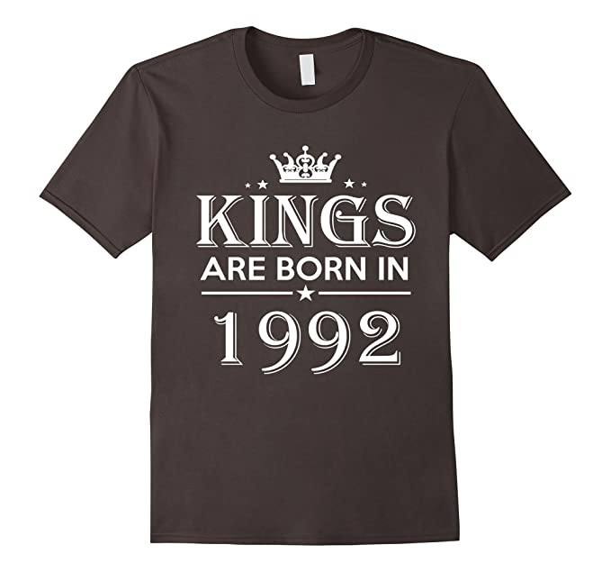 Mens 25th Birthday Gifts Idea For Him Men 25 Years Old King Shirt 2XL