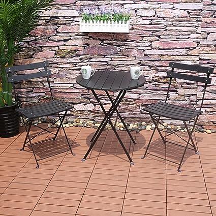 FOLDING CHAIR HOME Mesa y sillas Al aire libre Combinación ...