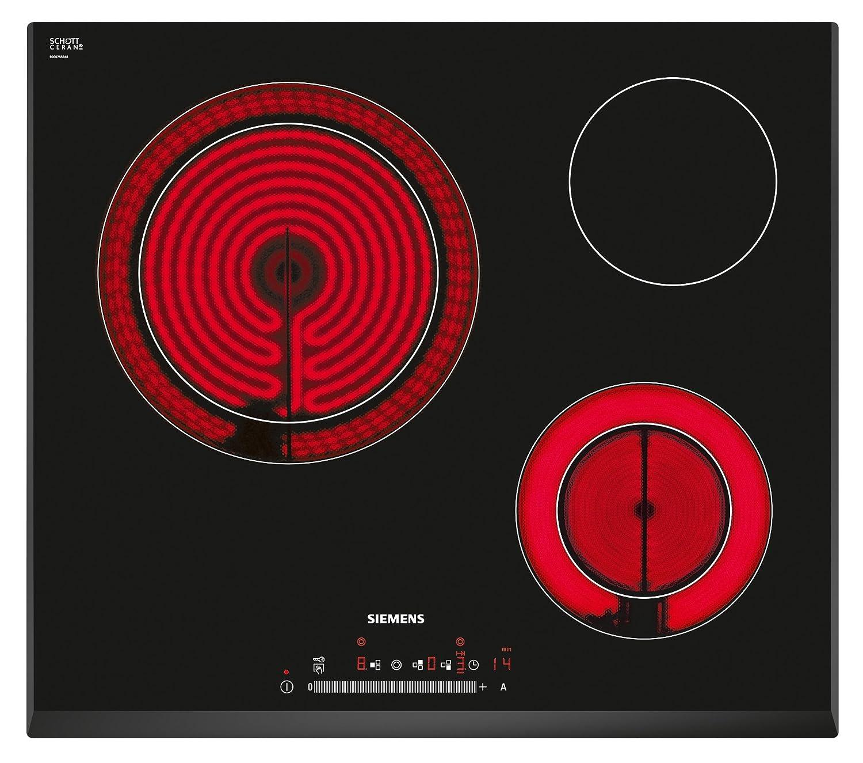 Siemens ET651FK17E - Placa Vitrocerámica Et651Fk17E Con 3 Zonas De ...