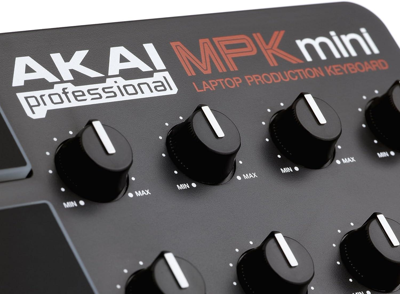 Akai MPK Mini Pro Teclado controlador MIDI 25 teclas