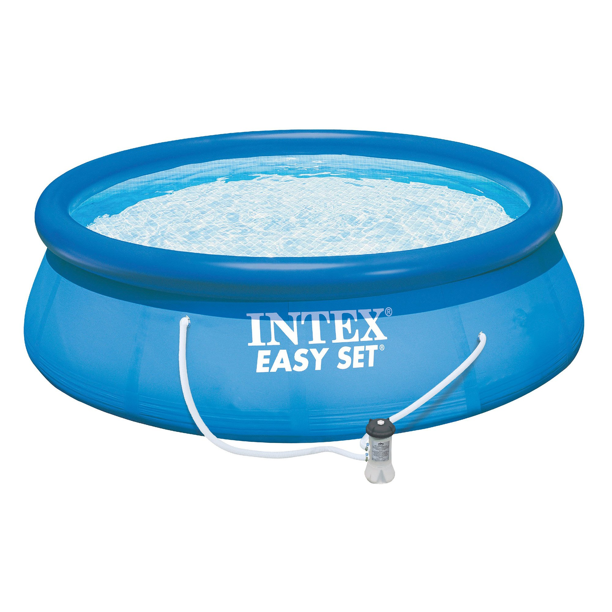 Intex 15ft X 48in Easy Set Pool Set with Filter Pump, Ladder, Ground Cloth & Pool Cover by Intex (Image #2)