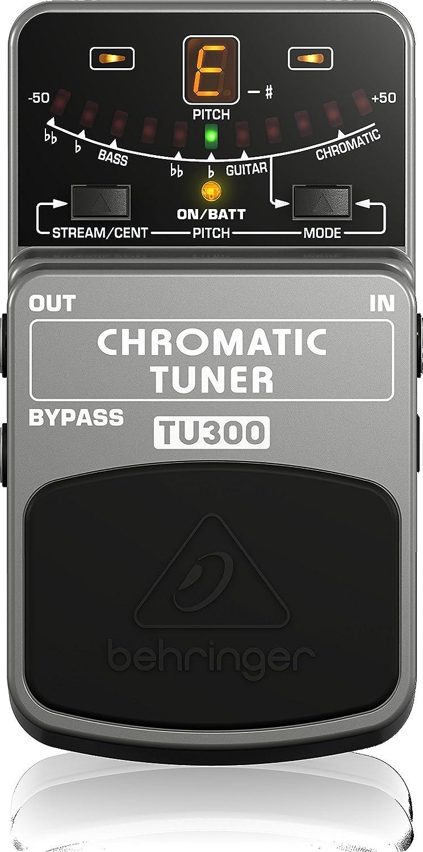 Behringer TU300 - Pedal de efectos, guitarra y bajo
