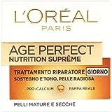 L'Oréal Paris Age Perfect Nutrition Supreme Crema Viso Riparatore, 50 ml