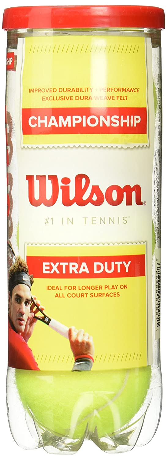 Wilson WRT100101 Championship Extra Duty-3 Ball Can Wilson- Racket Sports