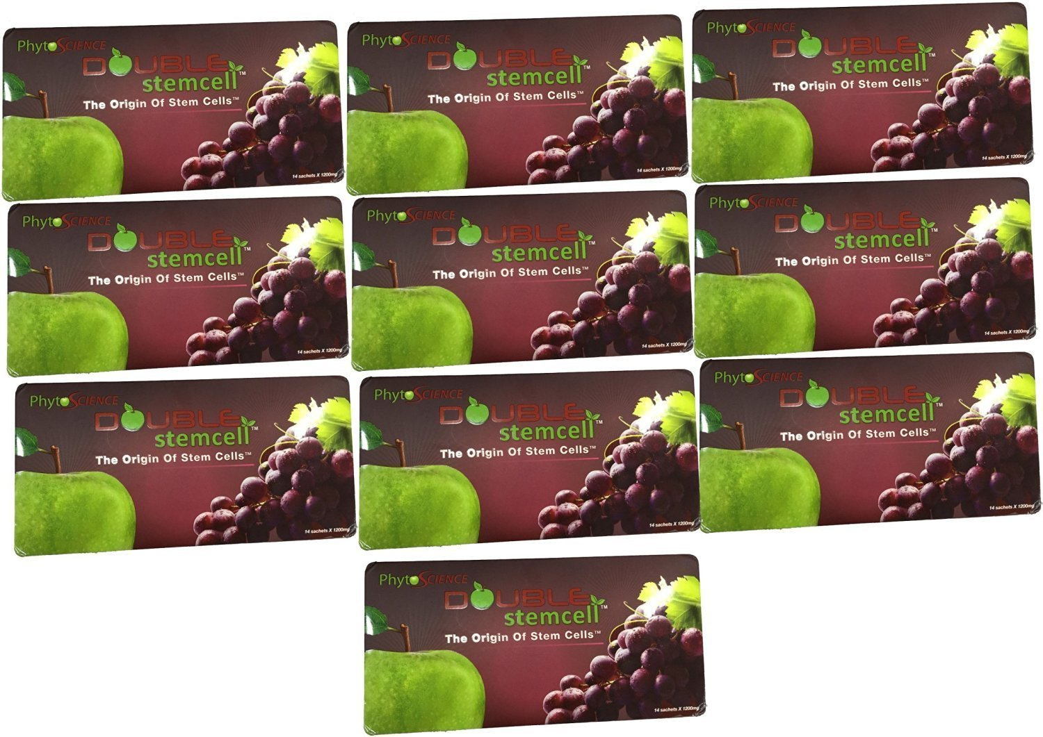 PhytoScience Double stemcell – 10 Pack (140 Sachets) – Beauty Innovations – Best Anti Aging Skin Care