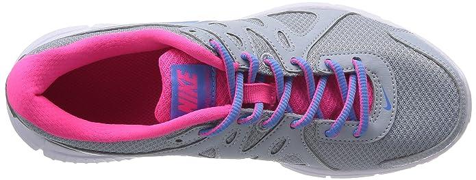 best authentic dcc9a c00b1 Nike Wmns Revolution 2 MSL - Zapatillas de running para niña, color  gris rosa azul blanco, talla 36.5  Amazon.es  Zapatos y complementos